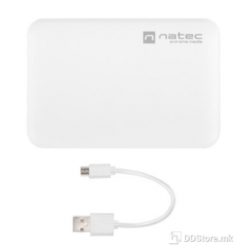 Natec Extreme Trevi 5000mAh Dual USB + Type-C White