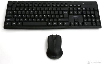 Omega Wireless OKM071B Multimedia w/Mouse