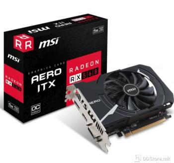 MSI Radeon RX 560 AERO 4GB GDDR5 OC DVI/HDMI/DP VR Ready DX12
