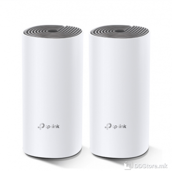 TP-Link Deco E4 (2-pack) (EU), AC1200 Whole Home Mesh Wi-Fi System