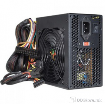 Power Box Power supply ATX 550W, With 230W real, 20+4pins