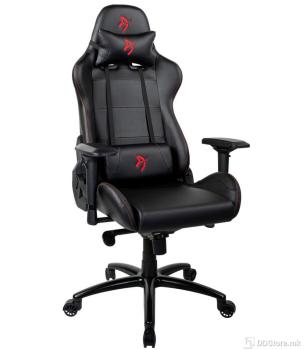 Arozzi Verona Signature Black PU Red Logo Gaming Chair
