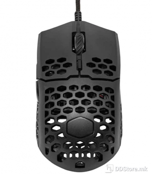 CoolerMaster MM710 Gaming Mouse with Lightweight Honeycomb Shell (53g), Black Matte