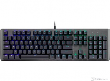 CoolerMaster CK550 Gaming Mechanical Keyboard with RGB Backlighting, Gateron Brown