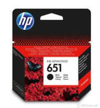 HP C2P10AE, No. 651, Ink Cartridge, Black, 600 str., za HP DeskJet InkAdvantage 5575