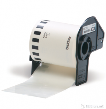 Brother Film Tape 62mm White