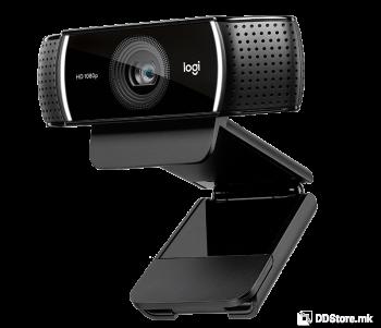 LOGITECH HD C922 PRO HD STREAM 1080p w/mic, w/TRIPOD 960-001088