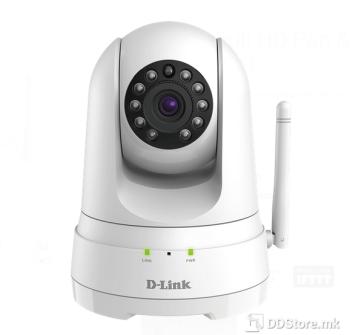 D-Link mydlink Full HD Pan & Tilt Wi-Fi Camera DCS-8525LH