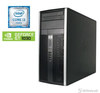 HP Compaq Elite 8200 Tower i3/ 8GB/ 120GB+250GB/ GT1030 NEW