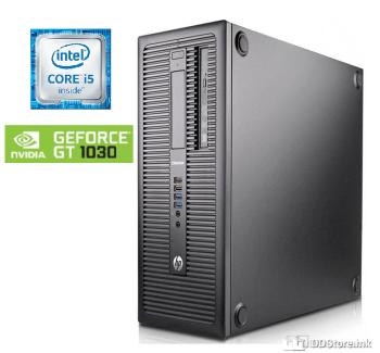 HP EliteDesk 800 G1 MT/ i5/ 16GB/ 240GB+250GB/ GT1030 NEW