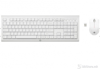 HP Wireless Keyboard & Mouse C2710 (White)