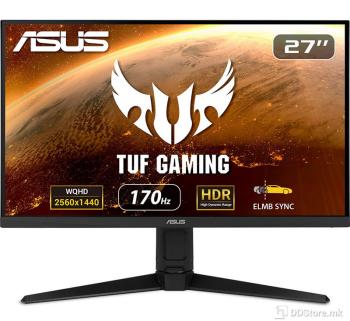"ASUS 27"" TUF Gaming VG27AQL1A, WQHD (2560x1440), IPS,170Hz (above 144Hz)"