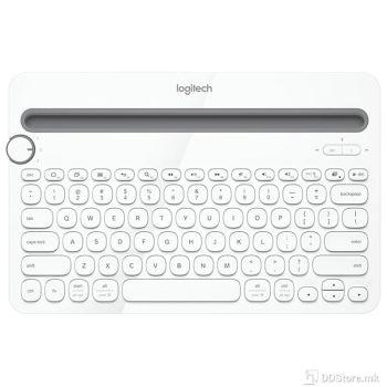 Logitech Wireless K480 Bluetooth Multi-Device White