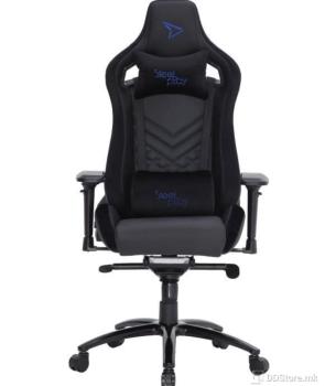 SteelPlay SGC02 Black/Blue Gaming Chair
