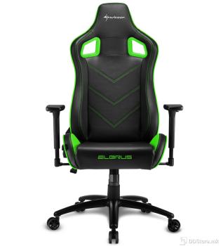 Sharkoon ELBRUS 2 Black/Green Gaming Chair