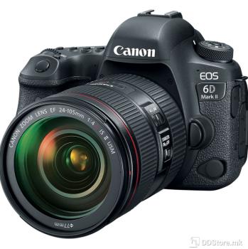Canon DSLR EOS 6D Mark II Body 26.2 MP