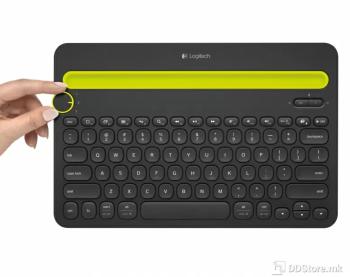 Logitech Wireless K480 Bluetooth Multi-Device Black