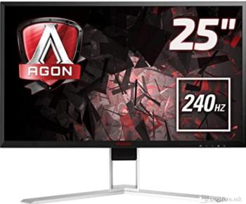 AOC FullHD LED Backlit Gaming AG251FZ Black/Red, 24.5inch,TN, 1920 x 1080