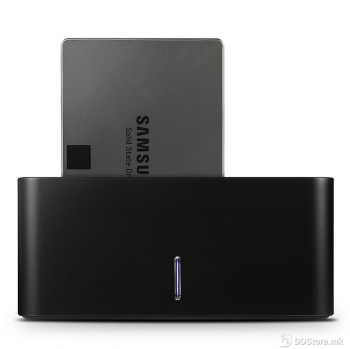 """Axagon ADSA-SN SuperSpeed USB COMPACT HDD dock  Compact USB 3.2 Gen1 docking station for 2.5"""" and 3.5"""" SATA HDDs/SSDs"""