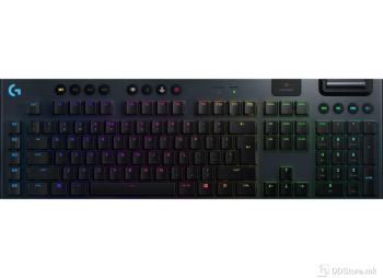 LOGITECH G915 LIGHTSPEED WIRELESS RGB GL TACTILE CARBON w/bluetooth 920-008910