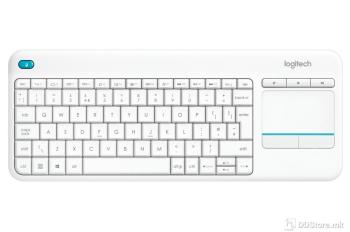 LOGITECH Touch K400 Plus White Unify KEYBOARD WIRELESS 920-007146