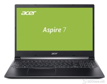 "ACER Aspire 7 (A715-75G-53Y2), Black, 15.6"" IPS LED FHD Core™ i5-9300H, GTX 1650Ti, 8 GB, 512GB SSD, Linux"