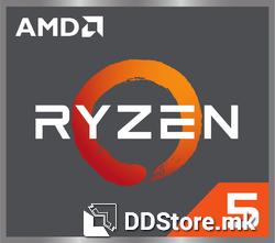 AMD Ryzen™ 5 1600 CPU, AM4, 6-cores, 3.2 GHz Base Clock, 3.6GHz Boost Clock, 16MB, 65W