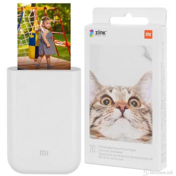 Xiaomi Mi Portable Photo Printer Paper, 2×3″, 20 sheets