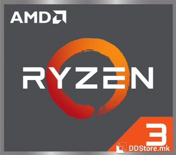 AMD Ryzen™ 3 4300GE, Quad Core, 4,0GHz 6MB s.AM4, Vega 6, TRAY