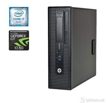 HP EliteDesk 800 G1 SFF i7/ 16GB/ 240GB+500GB/GT1030 NEW