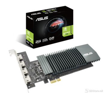 ASUS GeForce® GT 710 GT710-4H-SL-2GD5, 2GB GDDR5, with 4 HDMI ports