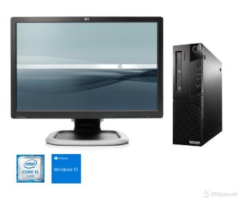 "Bundle Lenovo ThinkCentre M92p SFF i5/ 8GB/ 500GB/ W10/ HP L2245w 22"""