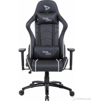 SteelPlay SGC01 White Gaming Chair
