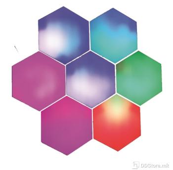 Wall Hexagon Lights JEJA RGB Smart Controlled 6 x LED