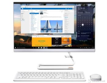 """Lenovo IdeaCentre AIO 3 24ALC6 White R3 5300U, 8GB, 512GB NVMe, 24"""", DOS"""