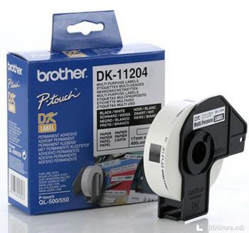 Brother DK11204 Multi Purpose Label 17mm x 54mm x 400mm