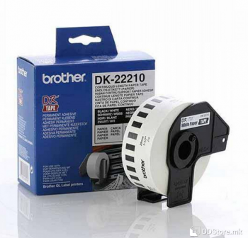 Brother DK22210 Continuous Paper Tape 29mm x 30.48m