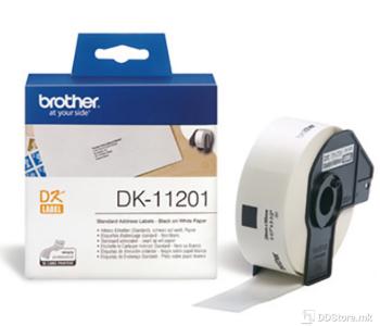 Brother DK11201 Standard Address Label 29mm x 90mm x 400