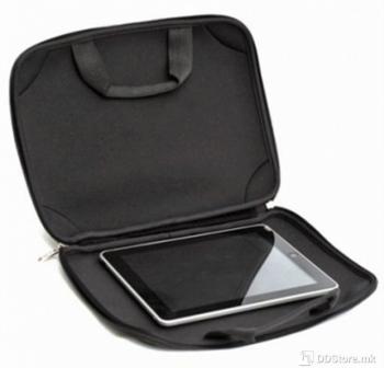 """PLATINET Bag for TABLET/IPAD 9.7""""  black with shoulder strap, ARIZONA 41395"""