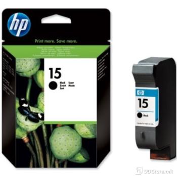 HP C6615DE HEWLETT-PACKARD, Tinta, Black, 25 ml, 600 str.