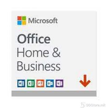 Microsoft Office Home&Business 2019 English / PC or Mac / Medialess