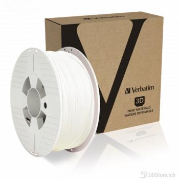 Filament Verbatim for 3D Printer ABS 1.75mm 1kg White