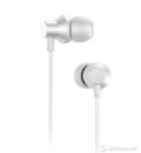 LENOVO HF130 Metal Headset w/microphone, White